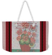 Thank You Mother Dear Weekender Tote Bag