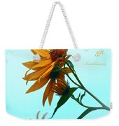 Thankfulness Weekender Tote Bag