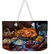 Thanksgiving Dinner Weekender Tote Bag