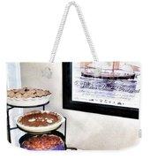 Thanksgiving Pies Weekender Tote Bag