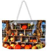 Thanksgiving Pumpkin Display No. 1 Weekender Tote Bag