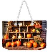 Thanksgiving Pumpkin Display No. 2 Weekender Tote Bag