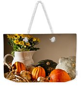 Thanksgiving Still Life Weekender Tote Bag