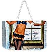 That Beauty In The Window Weekender Tote Bag