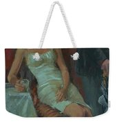 That Was A Lovely Lunch, 2008 Oil On Canvas Weekender Tote Bag