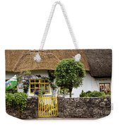 Thatched Cottage House Weekender Tote Bag
