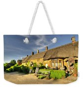 Thatched Cottages At Great Tew  Weekender Tote Bag