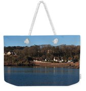 Thatched Cottages In A Town, Dunmore Weekender Tote Bag