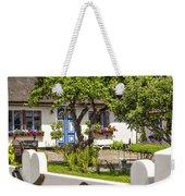 Thatched Roof Cottage Weekender Tote Bag