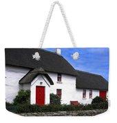 Thatched Roof House Weekender Tote Bag