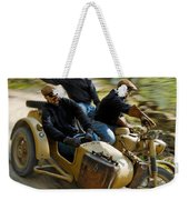 That's The Way To Ride An Army Bmw R75  Weekender Tote Bag