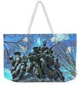 The 107th Infantry Memorial Sculpture Weekender Tote Bag