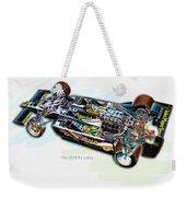 The 1978 F1 Lotus Weekender Tote Bag