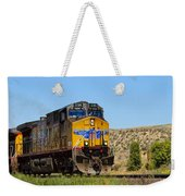 The 5789 Union Pacific Train Weekender Tote Bag
