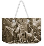 The 5th Division Storming By Escalade Weekender Tote Bag