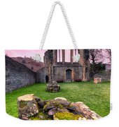 The Abbey  Weekender Tote Bag by Adrian Evans