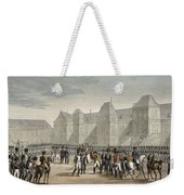 The Abdication Of Napoleon Weekender Tote Bag