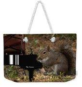 The Acorn's Pianist Weekender Tote Bag