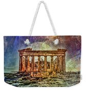 The Acropolis Of Athens Weekender Tote Bag