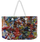 The Acrylic Bouquet  Weekender Tote Bag