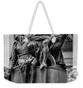 The Actor Statue Philadelphia Weekender Tote Bag