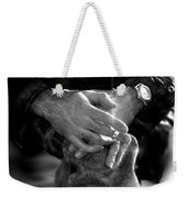 The Actor's Interview Weekender Tote Bag