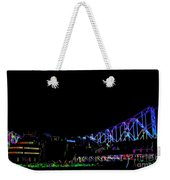 The Admiral In Neon Weekender Tote Bag