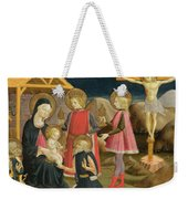 The Adoration Of The Kings And Christ On The Cross Weekender Tote Bag