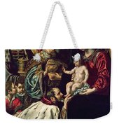 The Adoration Of The Magi, 1620 Oil On Canvas Weekender Tote Bag
