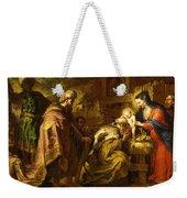 The Adoration Of The Magi Weekender Tote Bag by Orazio de Ferrari