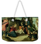 The Adoration Of The Shepherds, 1540s Weekender Tote Bag