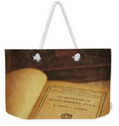 The Adventures Of Huckleberry Finn Weekender Tote Bag by Edward Fielding