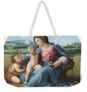 The Alba Madonna Weekender Tote Bag by Raffaello Sanzio of Urbino