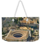 The Alhambra Aerial Weekender Tote Bag
