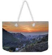 The Alhambra And Granada At Sunset Weekender Tote Bag