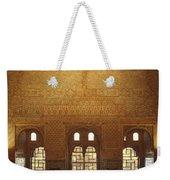 The Alhambra King Room Weekender Tote Bag