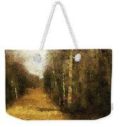 The Allee At Dawn Weekender Tote Bag