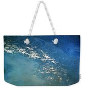 The Alps From Space Weekender Tote Bag by Anonymous