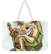 The Altered Easter Bunny Weekender Tote Bag