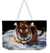The Amur Tiger Weekender Tote Bag