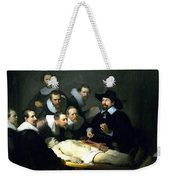 The Anatomy Lesson Weekender Tote Bag