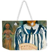 The Ancestors Of Tehamana Or Tehamana Has Many Parents.merahi Metua No Tehamana. Weekender Tote Bag