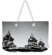 The Ancient Stupas Of Borobudur Weekender Tote Bag