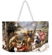 The Andrians A Free Copy After Titian Weekender Tote Bag