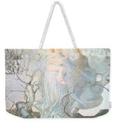 The Angel Of Life Weekender Tote Bag by Giovanni Segantini