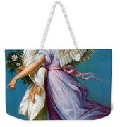The Angel Of Peace Weekender Tote Bag by B T Babbitt