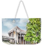 The Angles Of A Modern Architecture  Weekender Tote Bag