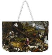 The Animals Entering Noah's Ark Weekender Tote Bag