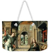 The Annunciation, Early 16th Century Weekender Tote Bag