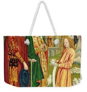 The Annunciation To Joachim And Anne, From The Dome Altar, 1499 Weekender Tote Bag